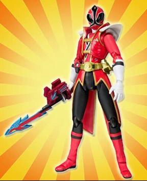 Samurai Rangers Hero Match Games poster