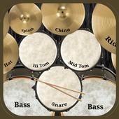 Drum kit icon