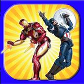 Mavel Hero Funs Games icon