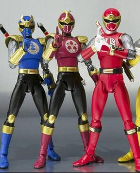 Samurai Rangers Top Team poster
