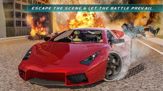 Muscle Car Robot Transformation Game 2018 screenshot 7