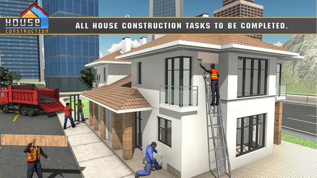 House Building Construction Games - City Builder screenshot 5