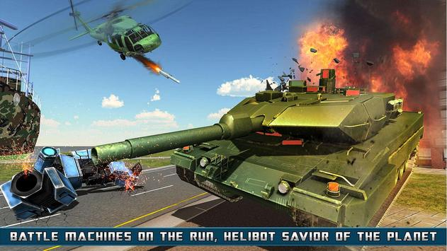 Helicopter Robot Transform screenshot 1