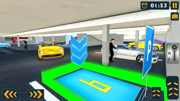 真正的停車場和駕校模擬器 截圖 2