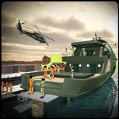 US Army Ship Transporter Game – Prisoner Transport icon