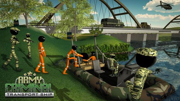 US Army Ship Transporter Game – Prisoner Transport screenshot 4