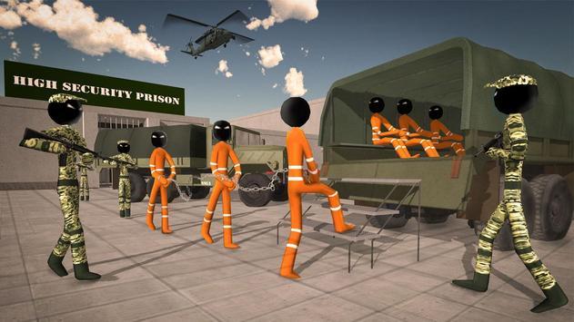 US Army Ship Transporter Game – Prisoner Transport screenshot 7