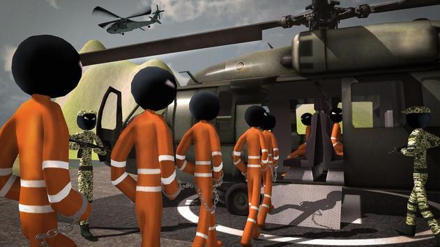 US Army Ship Transporter Game – Prisoner Transport screenshot 2