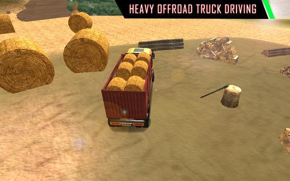 Real Off-Road Euro Cargo Transport Truck Simulator apk screenshot