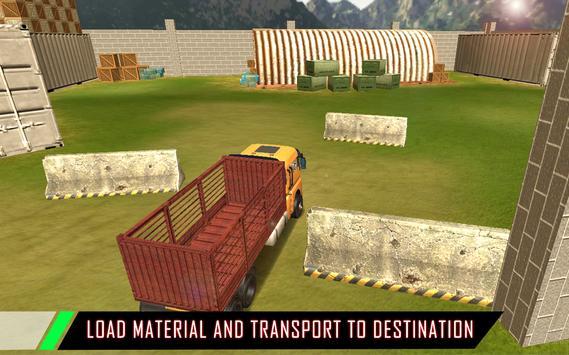 Real Off-Road Euro Cargo Transport Truck Simulator screenshot 9