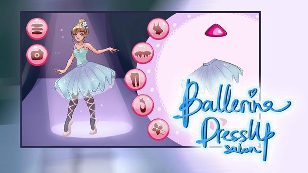 Ballerina Dressup Salon poster