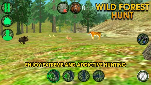 Wild Forest Hunt apk screenshot