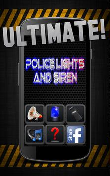 Police Lights & Siren Ultimate poster