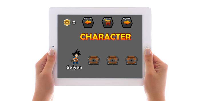 Super Saiyan Adventure World apk screenshot