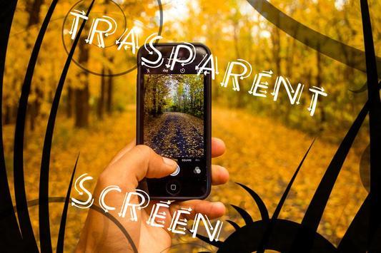 Transparent Screen Prank screenshot 1
