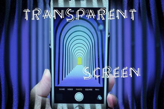 Transparent Screen Prank screenshot 2