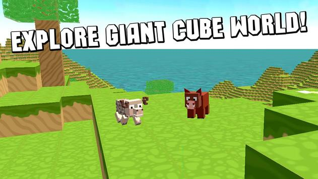 Cube World Survival Simulator poster