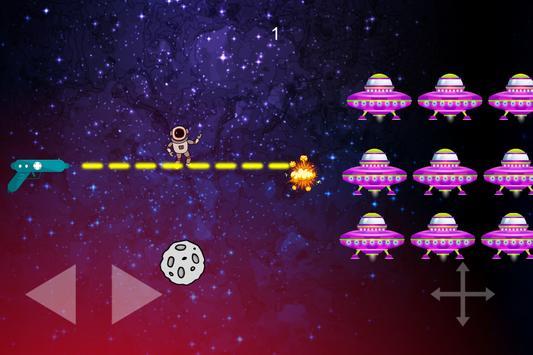 Flip The Gun - Galaxy Space Shooter game poster