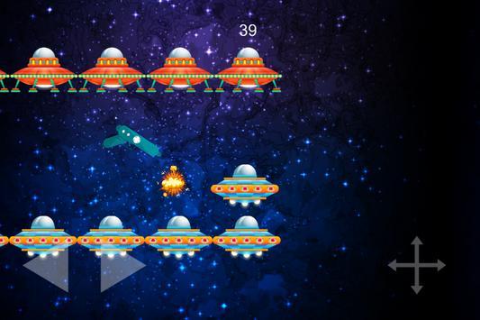 Flip The Gun - Galaxy Space Shooter game screenshot 1