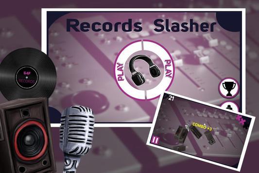 Records Slasher poster