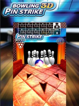 Bowl Pin Strike Deluxe 3D poster