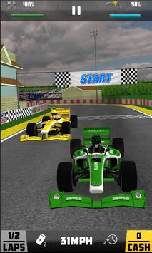 Real Thumb Formula Race - Thumb Car Racing apk screenshot