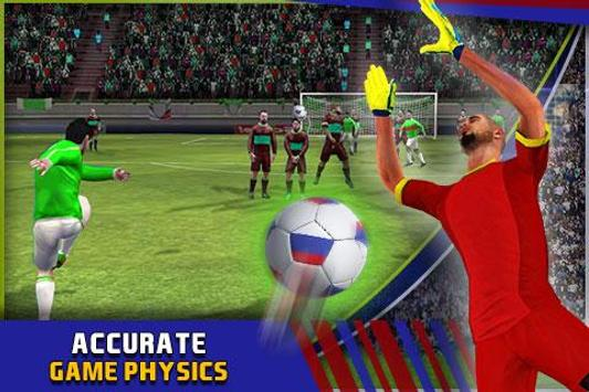 Soccer World Cup Rassia 2018 screenshot 2