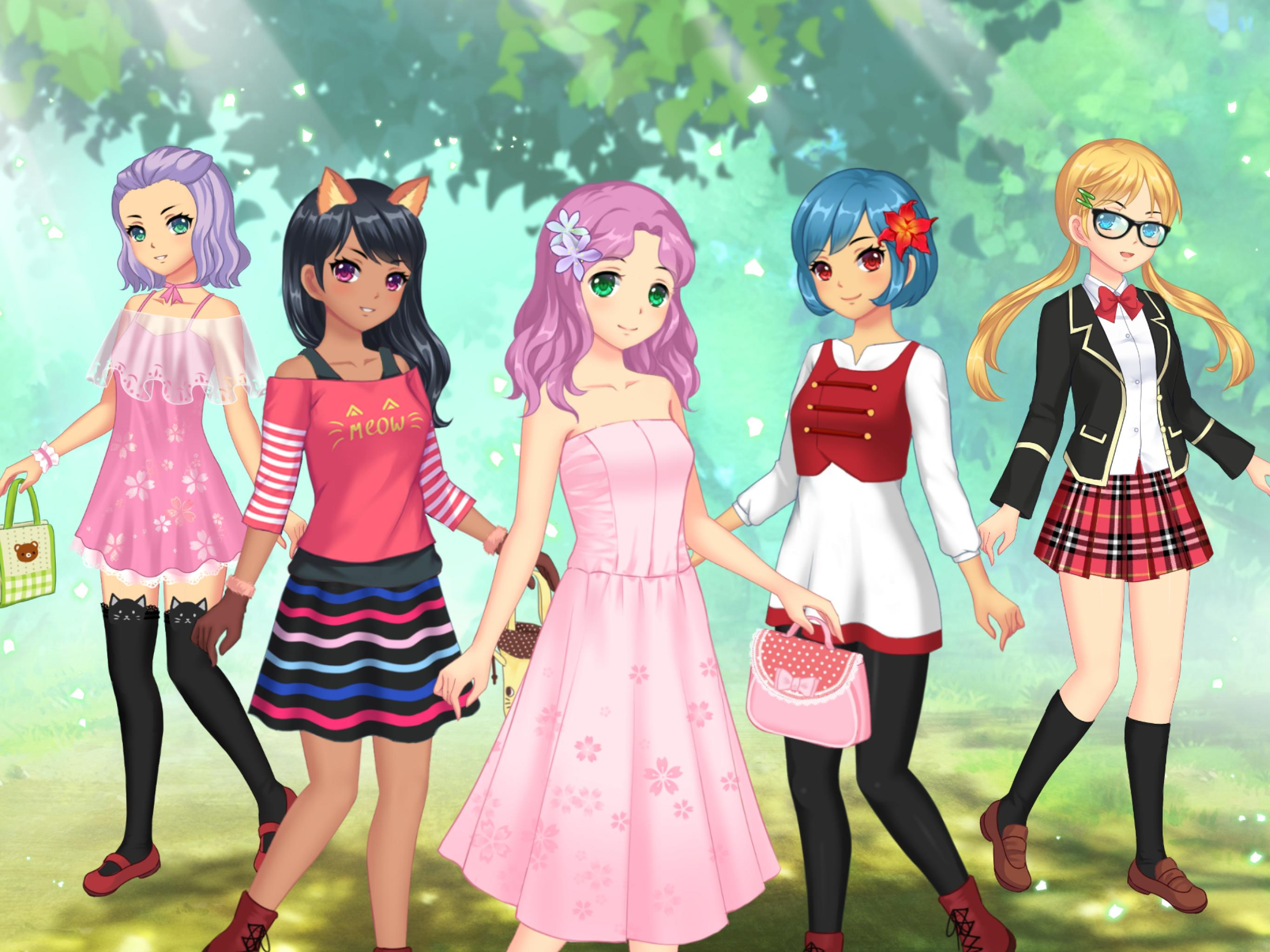Game Dress Up Anime Wanita for Android - APK Download