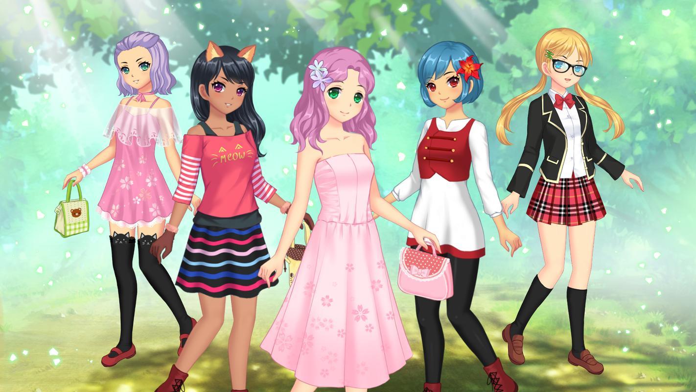 Game dress up anime wanita screenshot 12