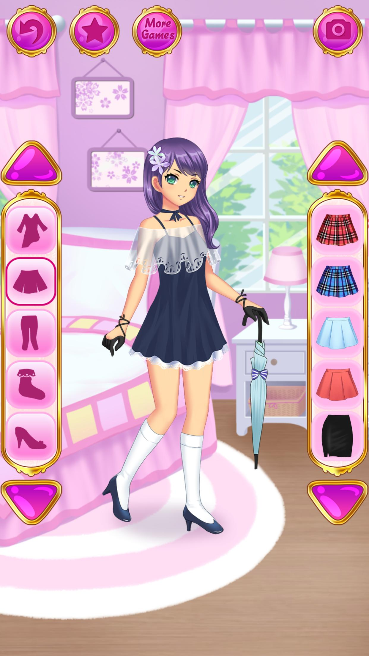 App Juego Porno Hentai Para Android anime dress up for android - apk download