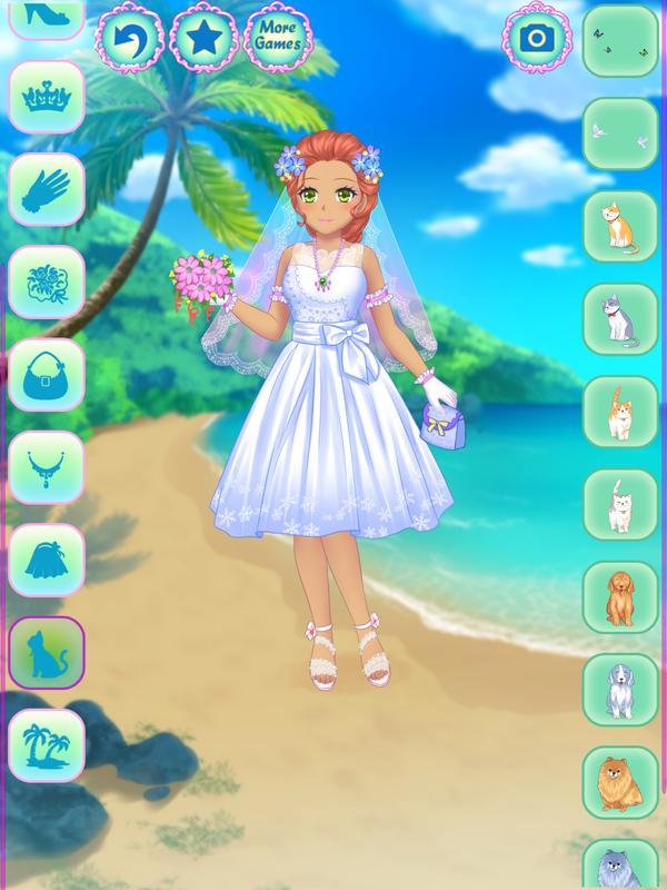 Anime wedding dress up apk download free casual game for for Anime wedding dress up games