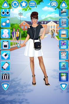 Vestir Menina Universitária imagem de tela 4