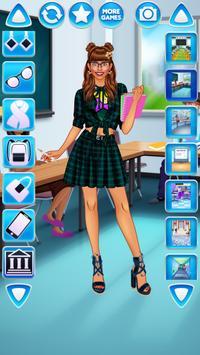Vestir Menina Universitária imagem de tela 16