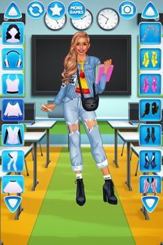 College Studentinnen Dress Up Screenshot 1