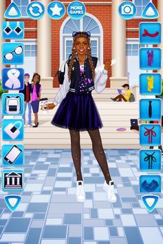 Vestir Menina Universitária imagem de tela 2