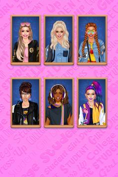 Vestir Menina Universitária imagem de tela 3