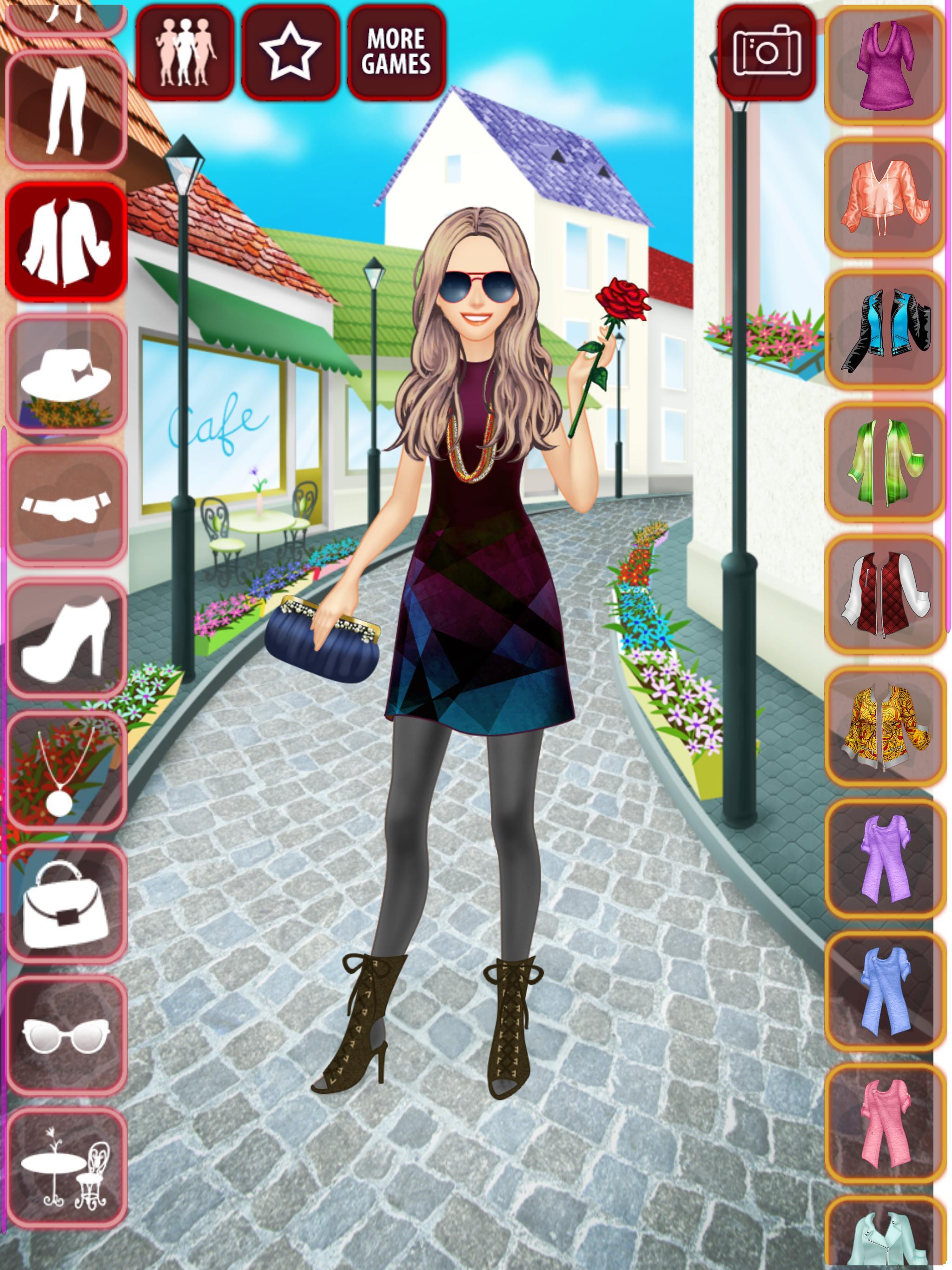 3a46ab99d لعبة تلبيس ملابس اللقاء للبنات for Android - APK Download