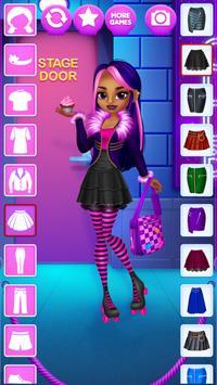 Emo Girls - Dress Up screenshot 8