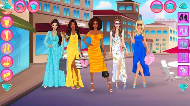 Girl Squad Fashion - BFF ファッションマニア向けのドレスアップ スクリーンショット 2