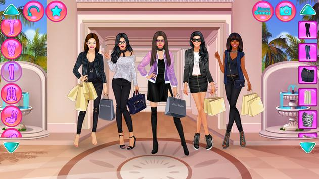 Girl Squad Fashion - BFF Fashionista Dress Up screenshot 5