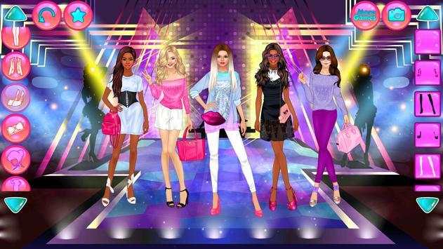 Girl Squad Fashion - BFF ファッションマニア向けのドレスアップ スクリーンショット 11