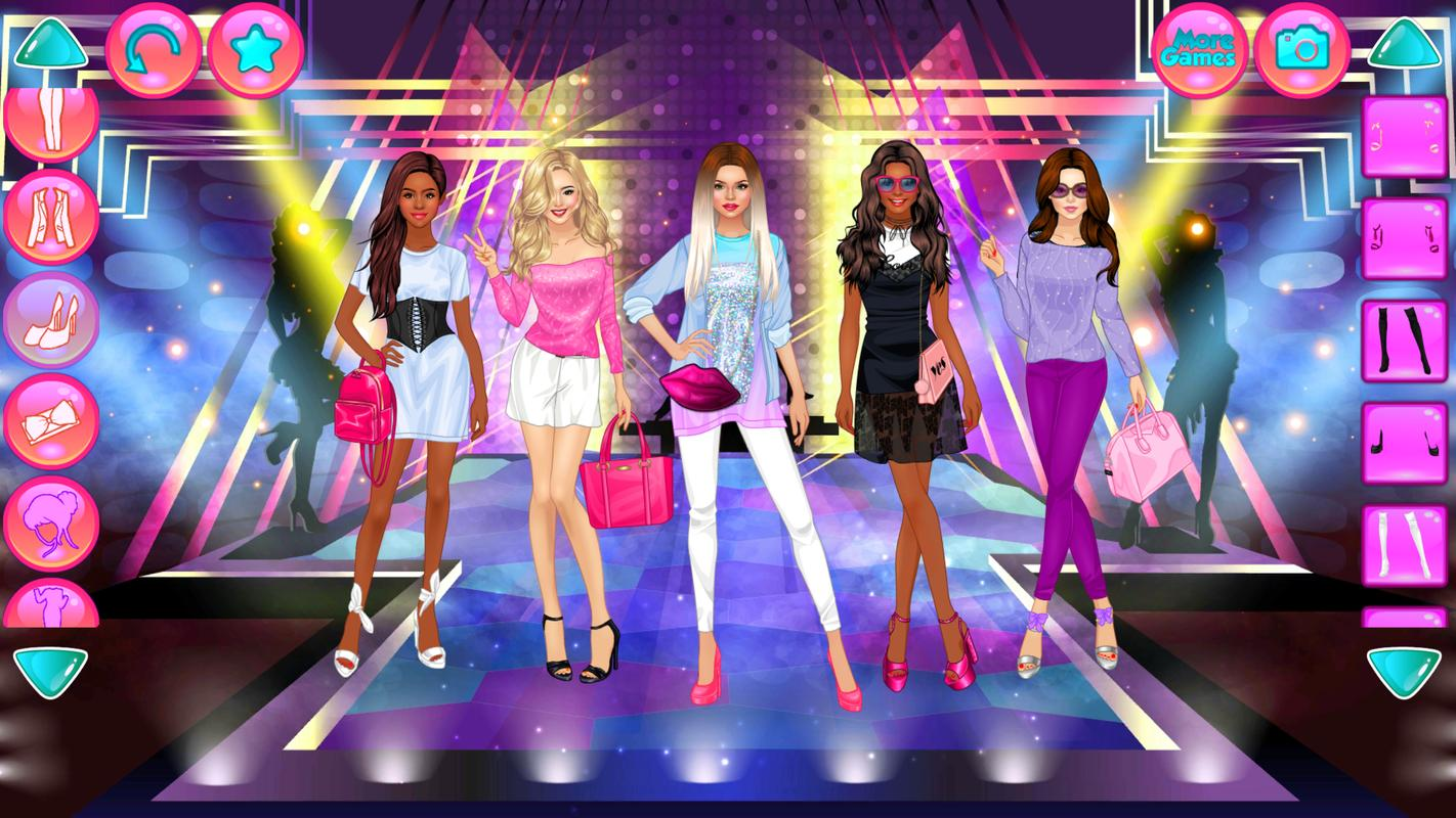Girl Squad Fashion - Bff Fashionista Dress Up For Android - Apk Download-2949