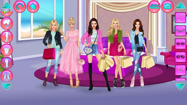 Girl Squad Fashion - BFF ファッションマニア向けのドレスアップ スクリーンショット 4