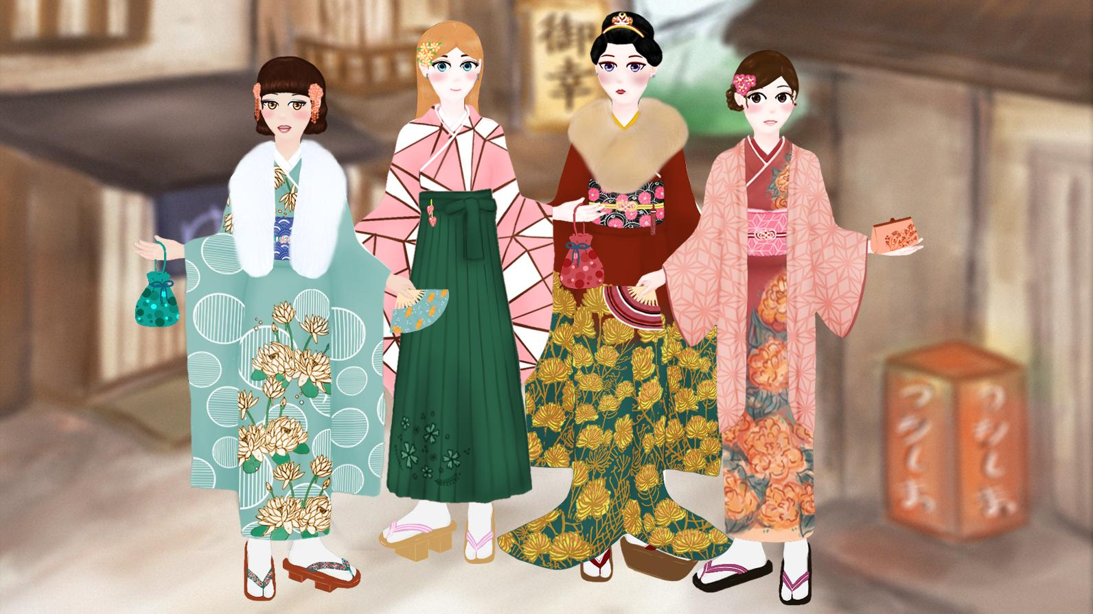 Japanese Traditional Fashion Makeup Dress Up For Android Apk Download