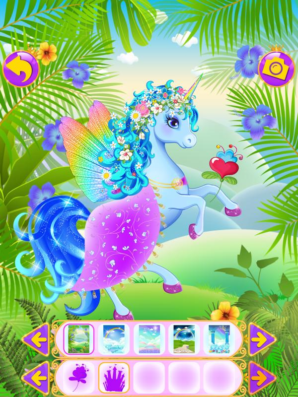 Juego De Vestir Unicornios For Android Apk Download