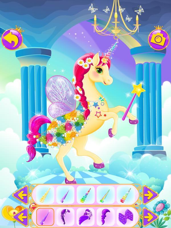 Juego De Vestir Unicornios For Android Apk Download