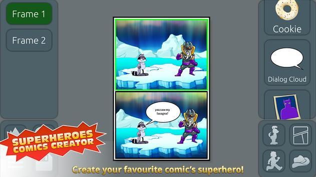 Superheroes Comics Creator screenshot 8