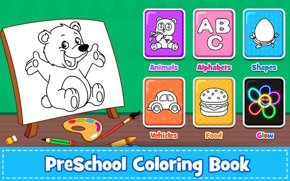 Coloring Games : PreSchool Coloring Book for kids for Android - APK ...