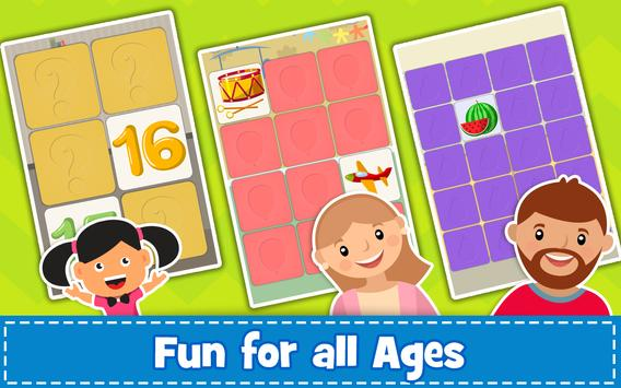 Memory Game for Kids : Animals, Preschool Learning screenshot 4