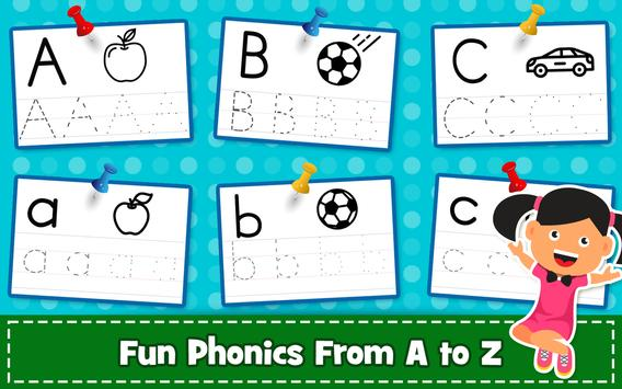 ABC PreSchool Kids Tracing & Phonics Learning Game for Android - APK ...